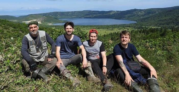 Сибирские петрологи исследовали кальдеры вулканов на Курилах